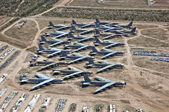 Tucson Boneyard Stock Images