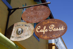 Tucson. Cafe Passe Stock Photos