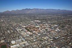 Tucson en toneelCatalina Mountains royalty-vrije stock afbeeldingen