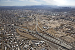 Tucson Interchange Royalty Free Stock Photography