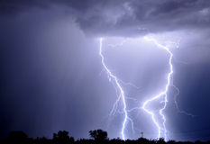 Tucson Lightning Royalty Free Stock Image