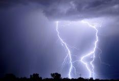 Tucson Lightning royalty free stock image