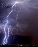 Tucson Lightning Stock Photo