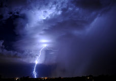 Tucson Lightning Stock Photography