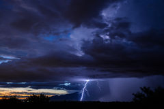 Tucson Lightning Royalty Free Stock Images