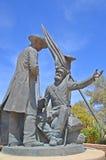 Tucson Mormon Battalion Monument, Stock Image