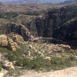 Tucson mountains Stock Photo