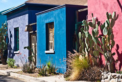 Tucson Old Barrio Historic Adobe House Stock Photography
