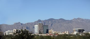 Tucson panorama (aka Old Pueblo) Royalty Free Stock Photography