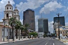 Tucson-Skyline stockbilder