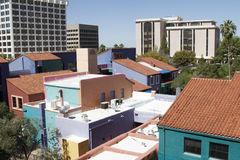 Tucson van de binnenstad royalty-vrije stock foto