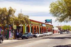 Tucson van de binnenstad, Arizona stock foto's