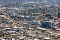 Tucson van de binnenstad, Arizona royalty-vrije stock foto's