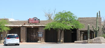Tucson velho Imagem de Stock