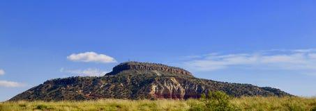 Tucumcari山,新墨西哥 库存图片