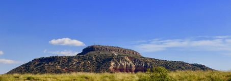 Tucumcari góra, Nowa - Mexico obraz stock