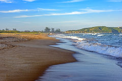 Tucuns beach in Buzios. Sea and sand of Tucuns beach in Buzios city, Rio de Janeiro Stock Image