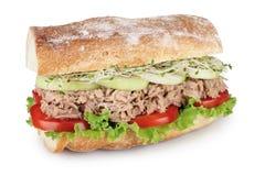 Tuńczyk kanapka Obrazy Royalty Free
