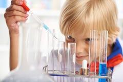 Étude de la chimie Photographie stock