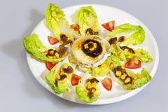 Tudela buds salad Royalty Free Stock Photos