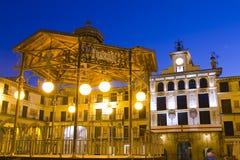 Tudela, Spanien Stockbild