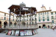 Tudela Spanien royaltyfria foton