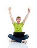 Étudiant d'adolescent d'homme Image stock