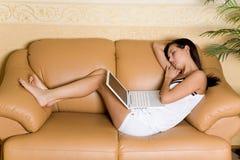 Étudiant de sommeil Photos libres de droits