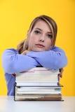 Étudiant féminin Photographie stock