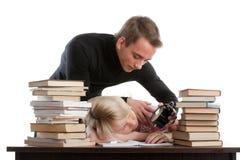 Étudiants. Image stock