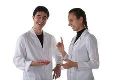 Étudiants en médecine Photo stock