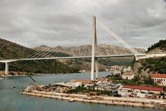 Tudjman Bridge Gruz Harbour Dubrovnik. Stock Photo