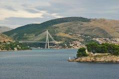 Tudjman Bridge Gruz Harbour Dubrovnik. Stock Photography