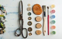 Tudo para handmade Fotos de Stock