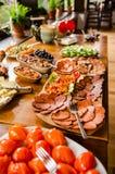 Tudo você pode comer o café da manhã Foto de Stock