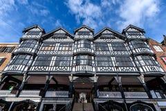 Tudor Architecture Chester England photos stock