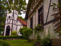Tudor architecture. Outdoor view of Tudor architecture - Gramado city - Brazil Stock Photography