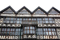 Tudor Architektur Stockfotografie