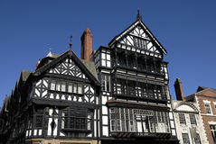 Tudor Black and White Building Stock Photography