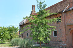Tudor brick House Royalty Free Stock Photo