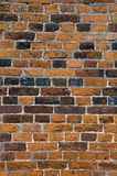 Tudor brickwork. Detail of tudor bricks and brickwork in ruined wall Royalty Free Stock Images