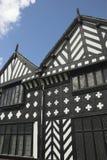 Tudor Building. Speke Hall Tudor house in Merseyside Royalty Free Stock Image