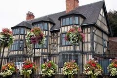 Tudor Building anziano fotografia stock libera da diritti