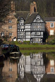 Tudor Building - England Royalty Free Stock Images