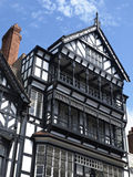 Tudor building. Traditional tudor building in Chester Cheshire UK Royalty Free Stock Photos