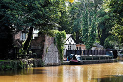 Tudor building at Worsley, Manchester Royalty Free Stock Photography
