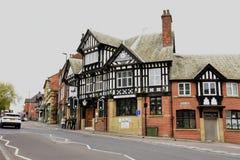 Tudor Buildings images libres de droits