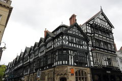 Tudor buildings Chester stock photos