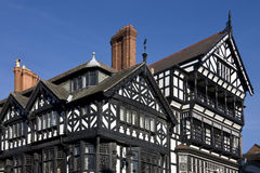 Tudor buildings - Chester - England Royalty Free Stock Image