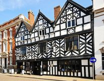 Tudor Cafe, Lichfield, England. Stock Photo